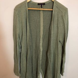 Olive slouchy cardigan